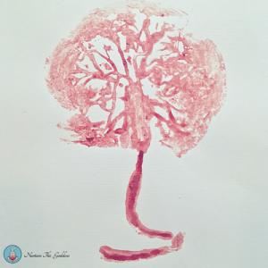 placenta print tree of life